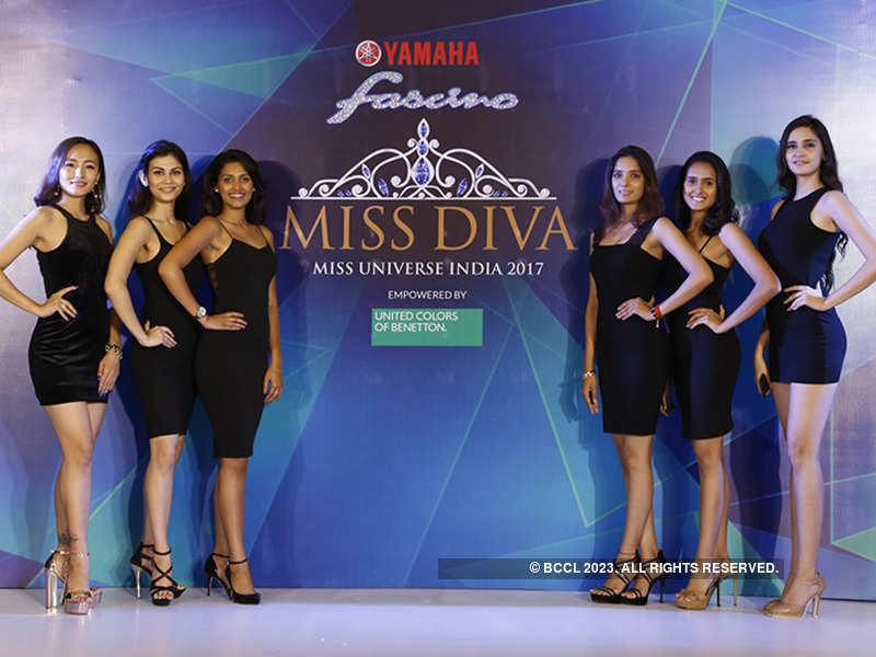Unveiling Yamaha Fascino Miss Diva 2017 Kolkata Finalists