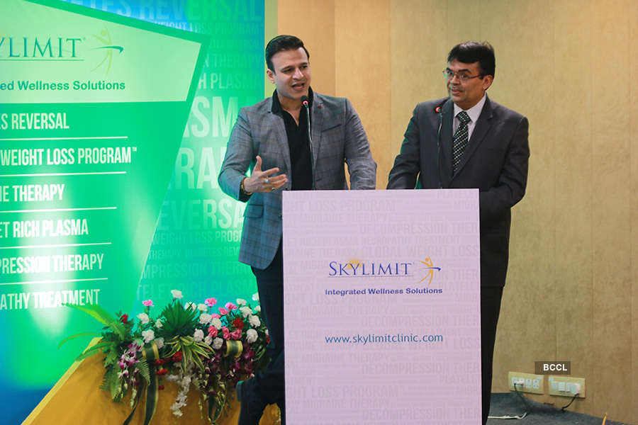 Vivek Oberoi inaugurates a wellness center in WTC