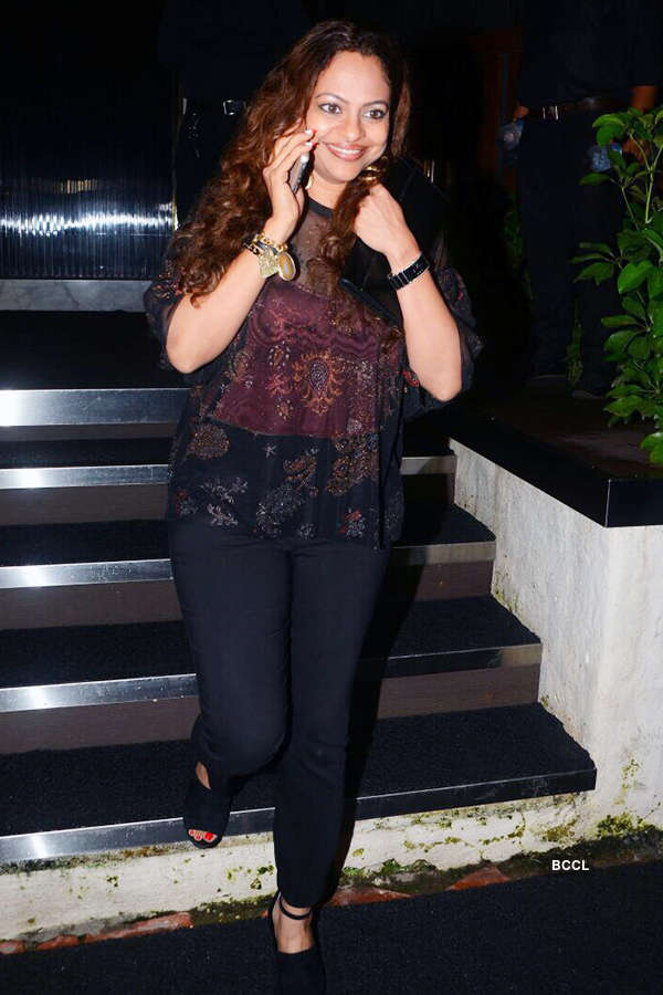 B'wood celebs attend Rohini Iyer's b'day party