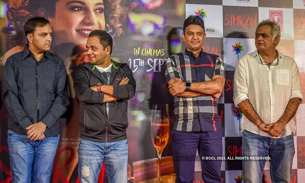 Simran: Trailer launch