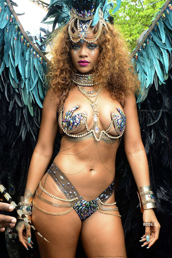 Rihanna's Crop Over costume sets the internet on fire