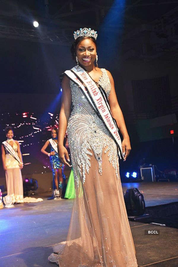 Khephra Sylvester crowned Miss British Virgin Islands 2017