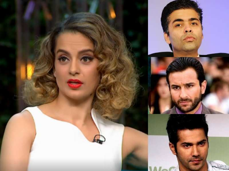Kangana Ranaut puts an end to the nepotism debate