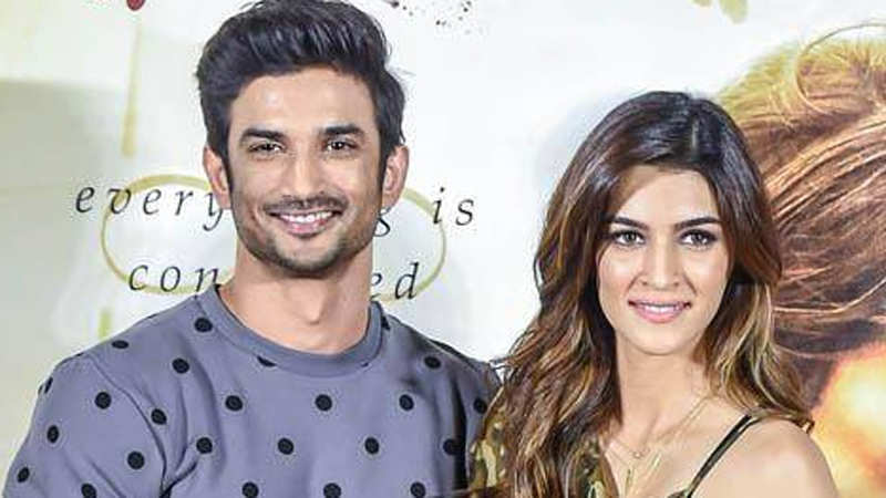 Sushant denies recommending Kriti Sanon for 'Chanda Mama Door Ke'