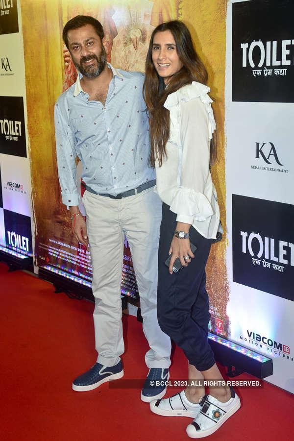 Abhishek Kapoor and Pragya Yadav