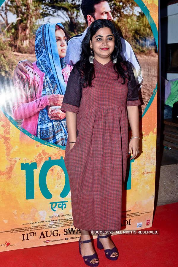 Ashwiny Lyer Tiwari at Toilet screening