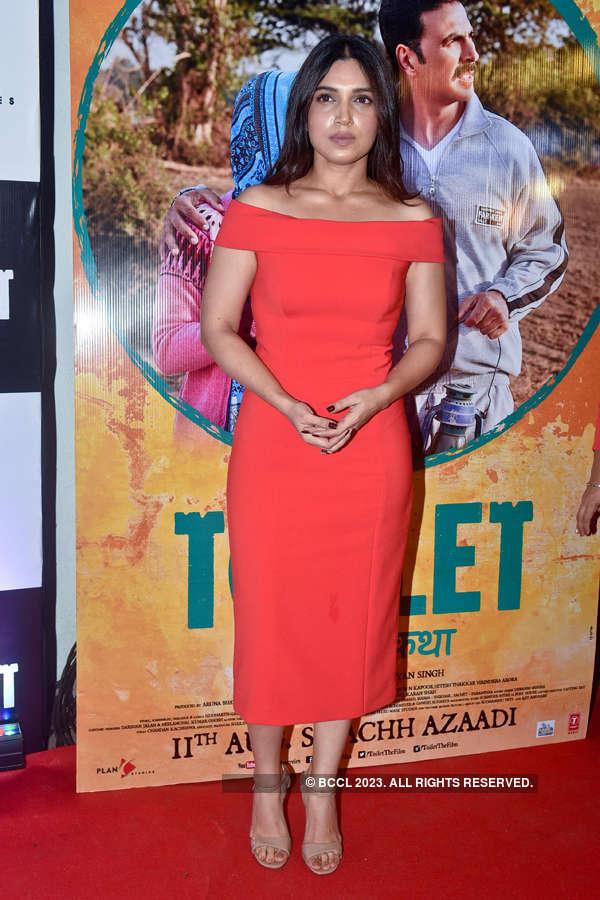 Bhumi Pednekar at Toilet screening