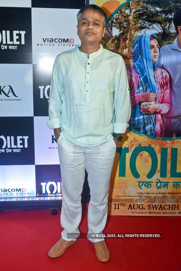 Ajit Andhare at Toilet screening