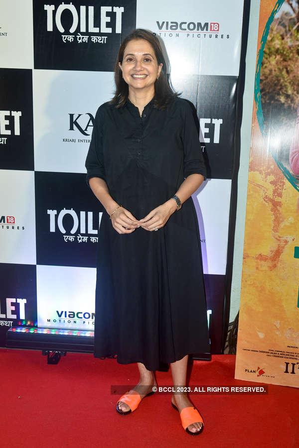 Anupama Chopra at Toilet screening