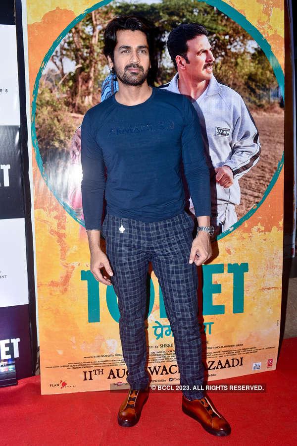 Arjan Bajwa at Toilet screening