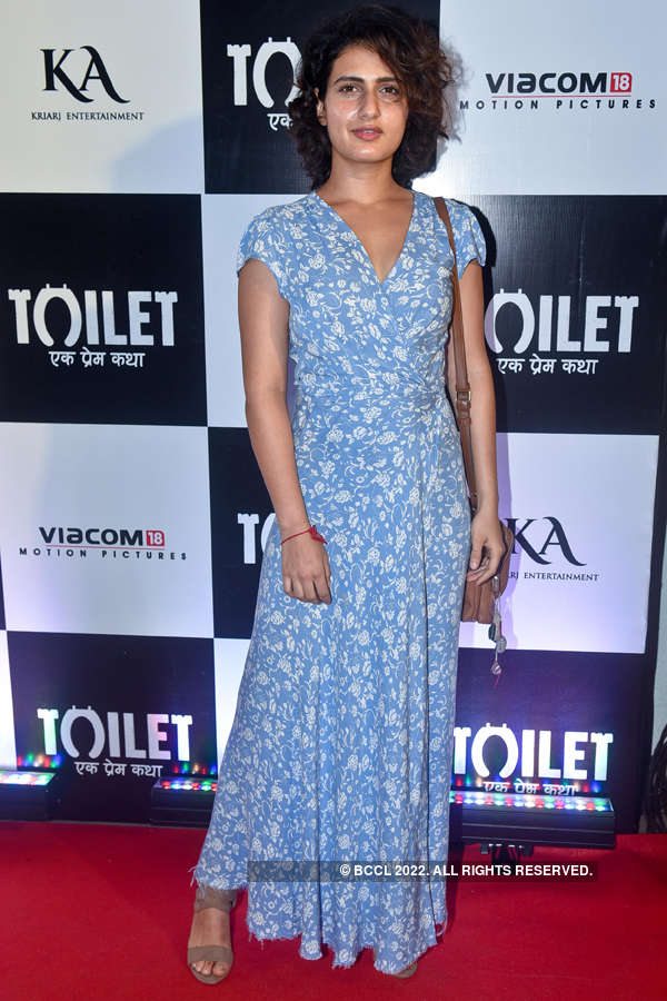 Fatima Sana Shaikh at Toilet screening