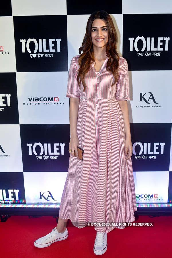 Kriti Sanon at Toilet screening