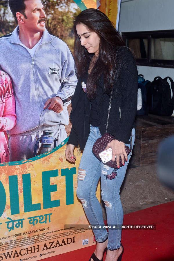 Sara Ali Khan at Toilet screening
