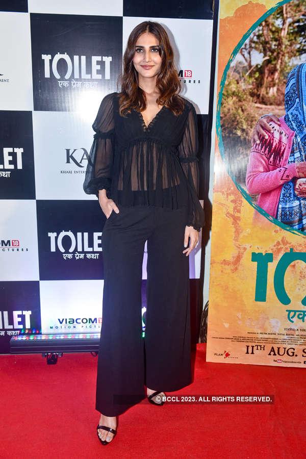 Vaani Kapoor at Toilet screening