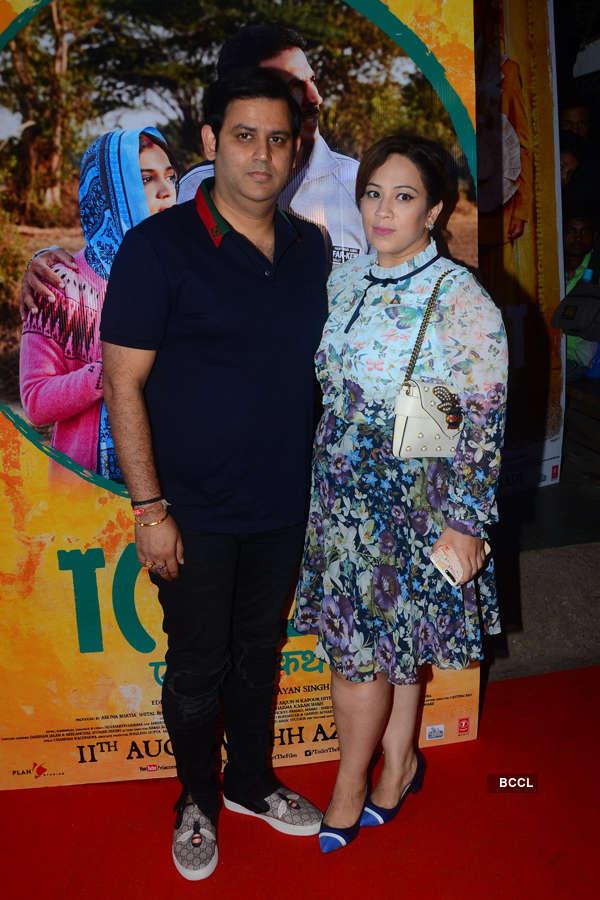 Ajay Kapoor with wife Ekta Kapoor