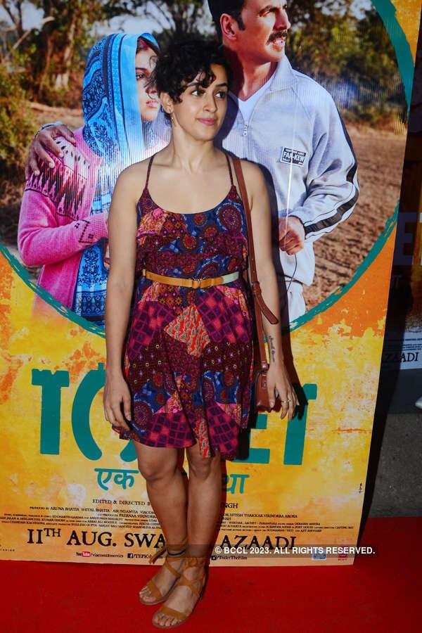 Sanya Malhotra at Toilet screening