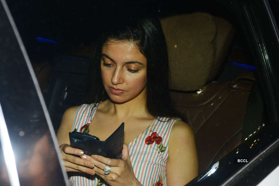 Divya Khosla Kumar at Toilet screening