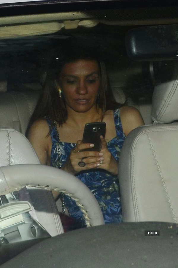 Divyendu Sharma's girlfriend at Toilet screening