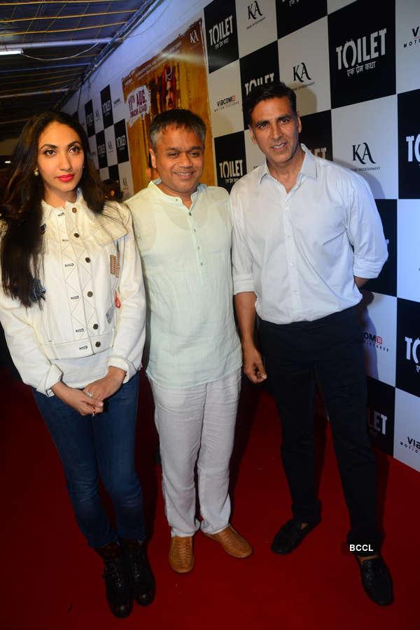 Prernaa Arora, Ajit Andhare and Akshay Kumar