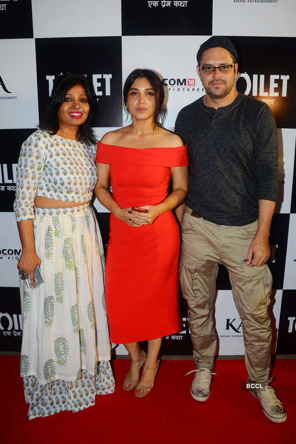 Bhumi Pednekar with guests