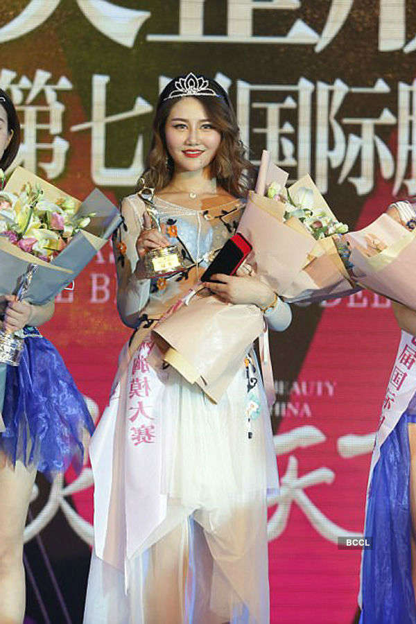 Liu Qianqian wins International Breast Model Contest