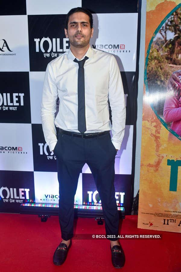 Arjun N. Kapoor at Toilet screening