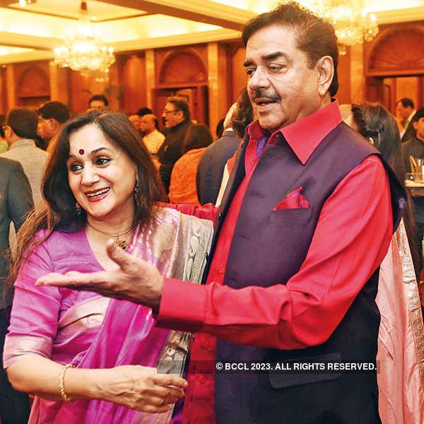 Nalini Singh and Shatrughan Sinha