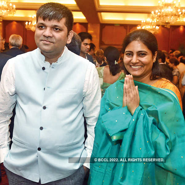 T Subbarami Reddy hosts a party to honour Shobana Kamineni