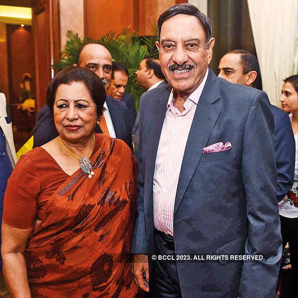 Kusum and Sushil Ansal