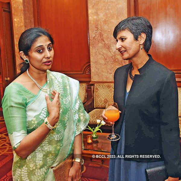 Sarita Reddy and Australian High Commissioner Harinder Sidhu