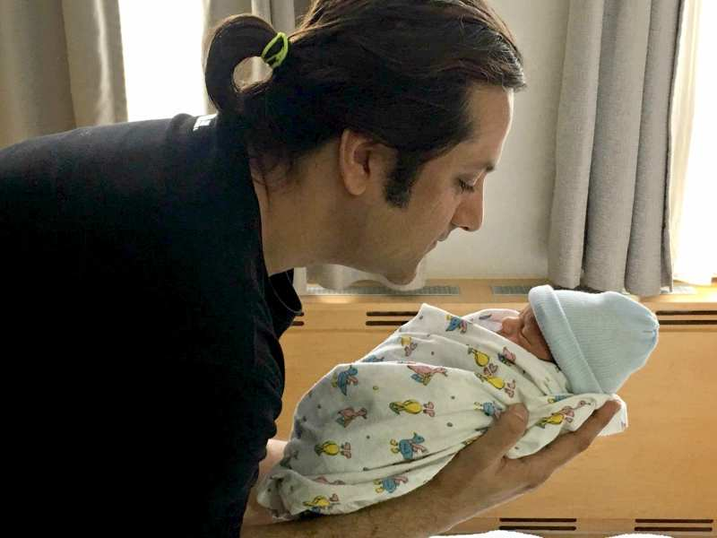 Fardeen Khan shares the first picture of his son Azarius