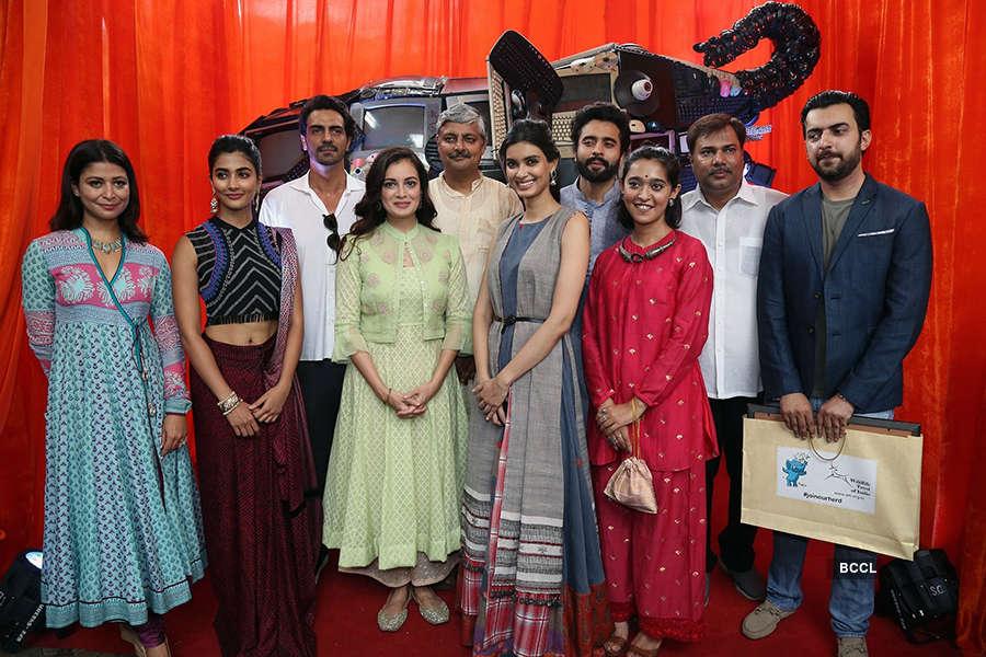 Celebs support Gaj Yatra campaign
