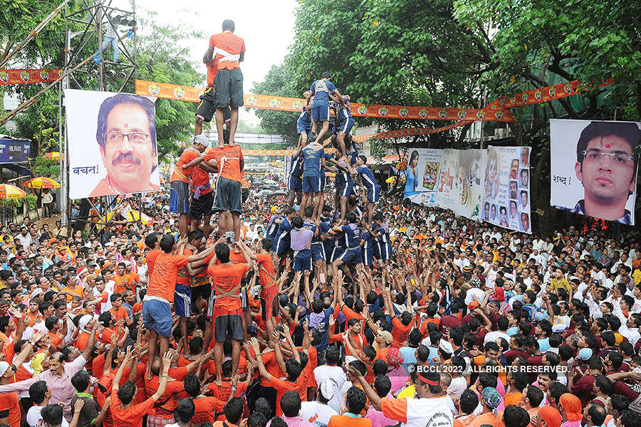 Dahi Handi celebrations: High scale human pyramids