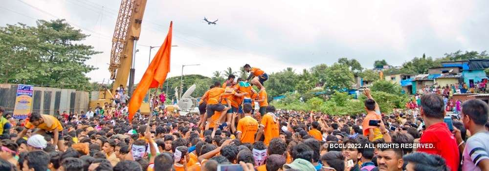 In pics: Dahi Handi celebrations