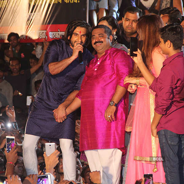B'wood celebs at Dahi Handi celebrations