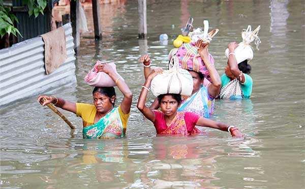 Floods wreak havoc in Bihar, Assam, West Bengal
