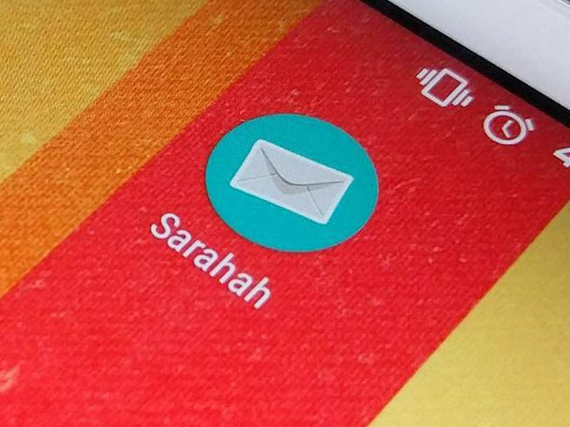 you will not receive messages sent via sarahah app if you have not