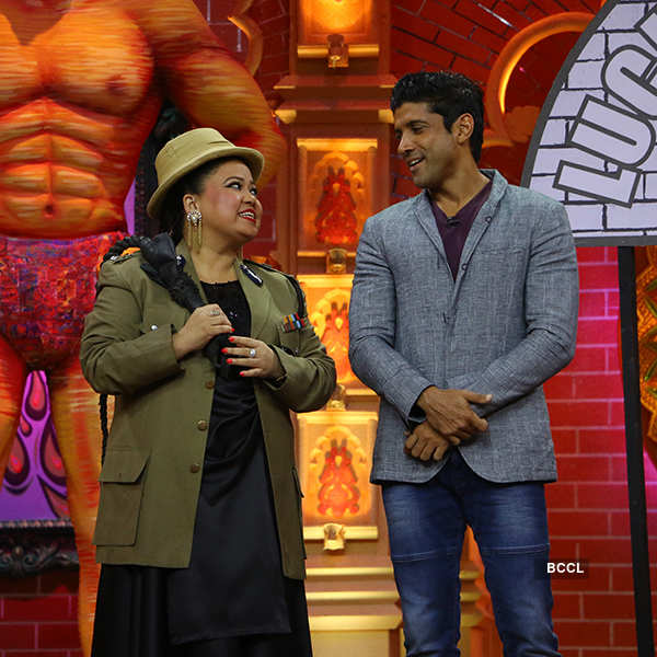 Comedy Dangal: On the sets