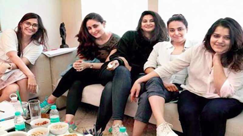 Kareena, Sonam, Swara begin prepping for 'Veere Di Wedding'