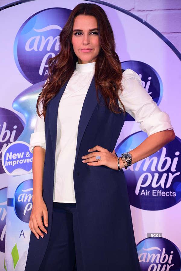 Neha Dhupia and Boman Irani launch new Ambi Pur