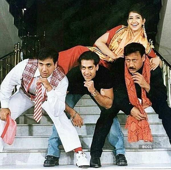 Manisha Koirala, Govinda, Salman Khan, Jackie Shroff
