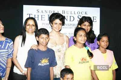 Gul @ 'The Blind Side' DVD launch