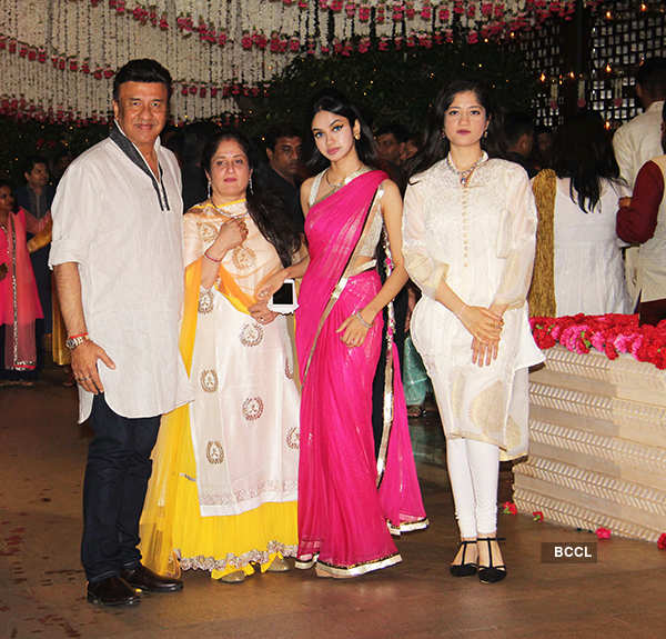 Bollywood celebrities shine at Mukesh Ambani's Ganesh Chaturthi celebrations