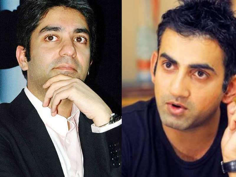 From left: Abhinav Bindra and Gautam Gambhir