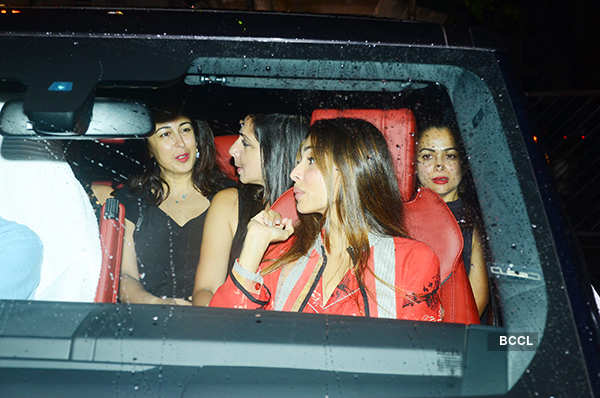 Celebs at Neha Dhupia's b'day party
