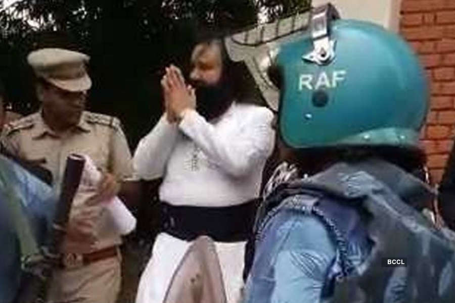 In Pics: Ram Rahim sentencing; tight vigil in Haryana and Punjab