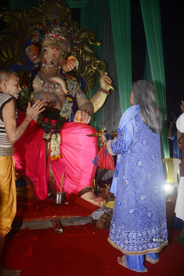 Take a look at how Bollywood and TV stars are celebrating Ganesh Chaturthi