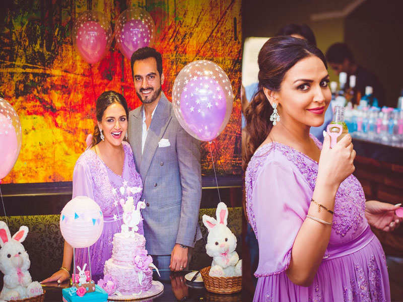 Deol Gets A Surprise Lavender Theme Baby Shower