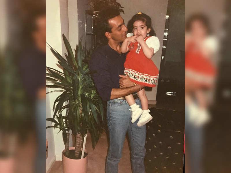 Image result for sanjay dutt daughter