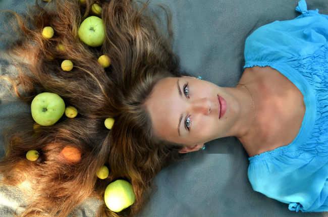 woman hair 650